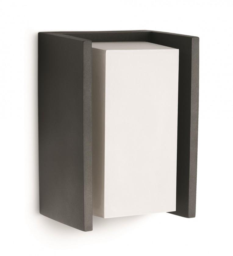 Mano - Vonkajšie osvetlenie E 27, 11,8x21,2x10,1 (antracit šedá)