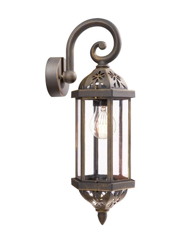 Mano - Vonkajšie osvetlenie E 27, 12,3cm (rezavá)