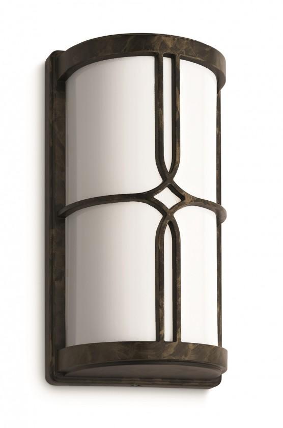 Mano - Vonkajšie osvetlenie E 27, 14,6cm (zlatohnedá)