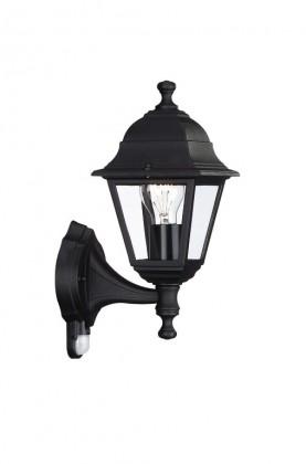 Mano - Vonkajšie osvetlenie E 27, 15x37,5x15 (čierna)