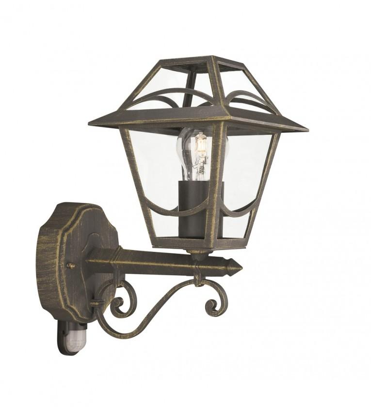 Mano - Vonkajšie osvetlenie E 27, 17,3cm (zlatá patina)