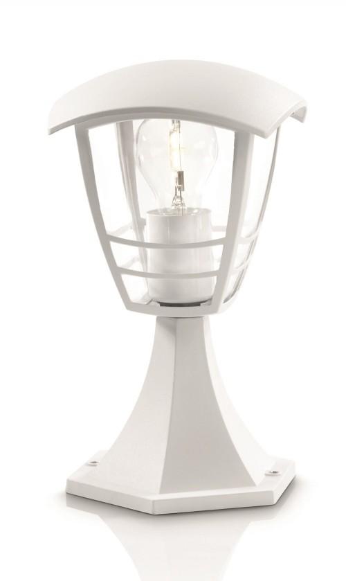 Mano - Vonkajšie osvetlenie E 27, 17,5x30x17,5 (biela)