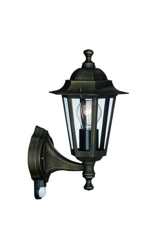 Mano - Vonkajšie osvetlenie E 27, 17,5x37x17,5 (bronzová patina)