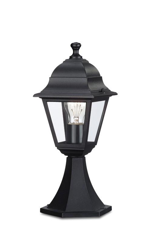 Mano - Vonkajšie osvetlenie E 27, 17,5x40x17,5 (čierna)