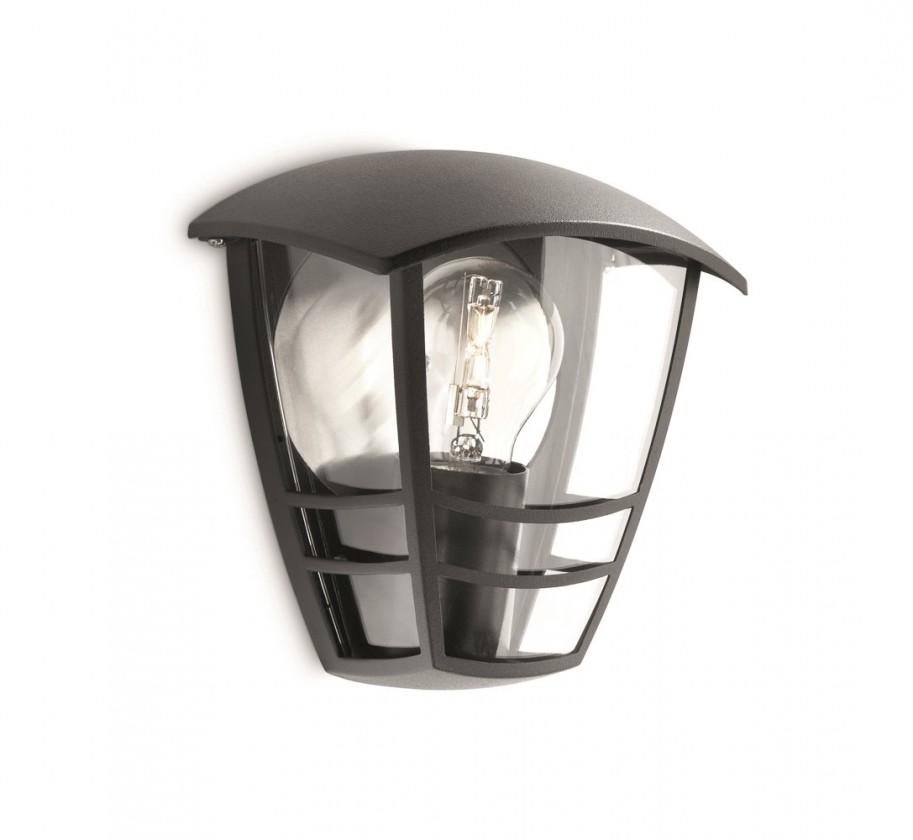 Mano - Vonkajšie osvetlenie E 27, 18cm (čierna)