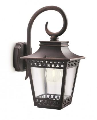 Mano - Vonkajšie osvetlenie E 27, 18x36x23 (rezavá)