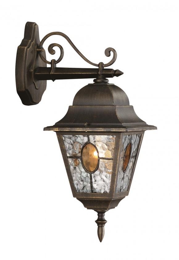 Mano - Vonkajšie osvetlenie E 27, 18x46x26 (bronzová patina)