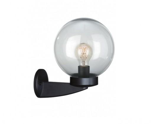 Mano - Vonkajšie osvetlenie E 27, 20cm (čierna kouřová)