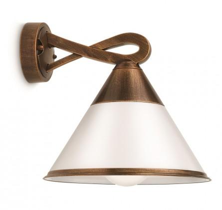 Mano - Vonkajšie osvetlenie E 27, 23,5cm (bronz antik)