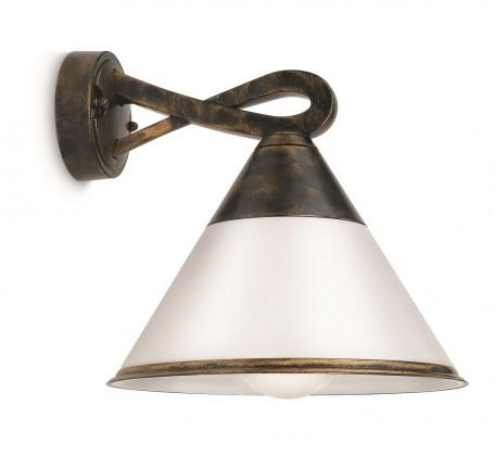 Mano - Vonkajšie osvetlenie E 27, 23,5cm (hnedá s patinou)
