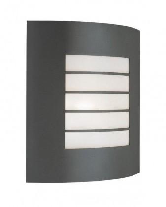 Mano - Vonkajšie osvetlenie E 27, 23,5cm (metalická šedá)