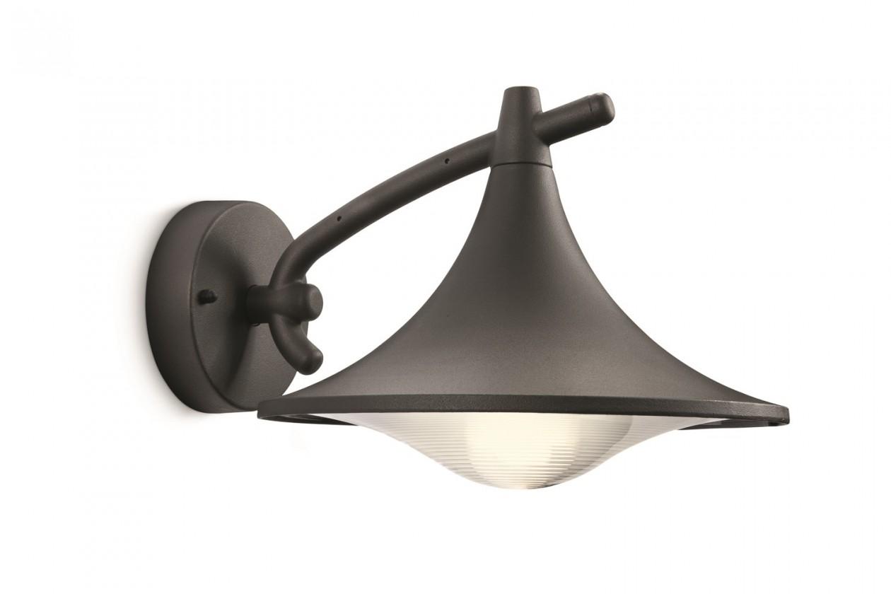 Mano - Vonkajšie osvetlenie E 27, 25cm (antracit šedá)