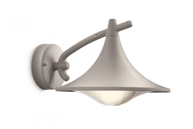 Mano - Vonkajšie osvetlenie E 27, 25cm (šedá)