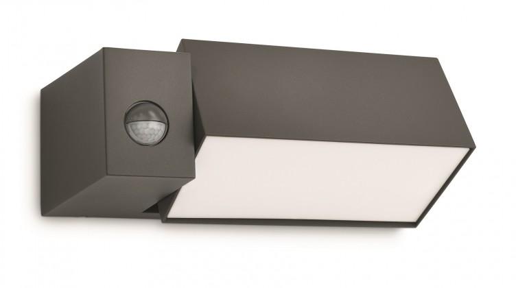 Mano - Vonkajšie osvetlenie E 27, 26,9cm (antracit šedá)