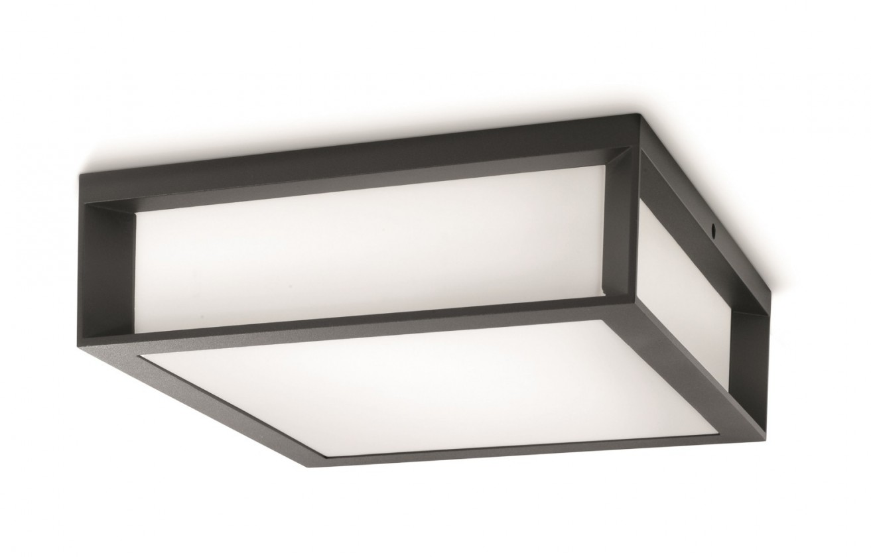 Mano - Vonkajšie osvetlenie E 27, 26cm (antracit šedá)