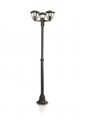 Mano - Vonkajšie osvetlenie E 27, 48cm (čierna)