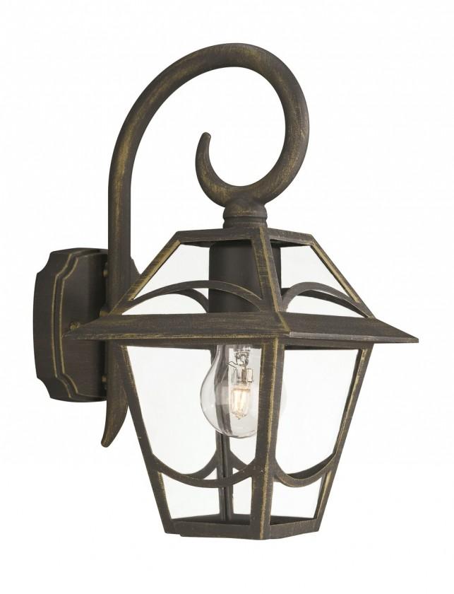 Mano - Vonkajšie osvetlenie E27, 17,3cm (zlatá patina)
