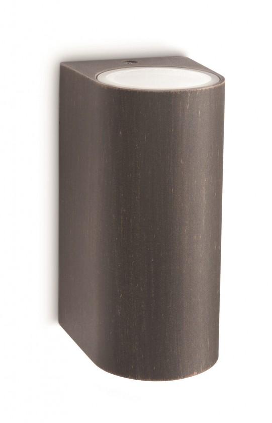Mano - Vonkajšie osvetlenie GU 10, 8cm (rezavá)