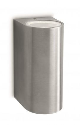 Mano - Vonkajšie osvetlenie GU 10, 9,7cm (nerezová ocel)