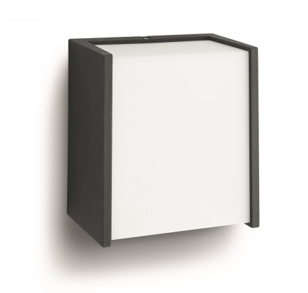 Mano - Vonkajšie osvetlenie LED, 12,2cm (čierna)