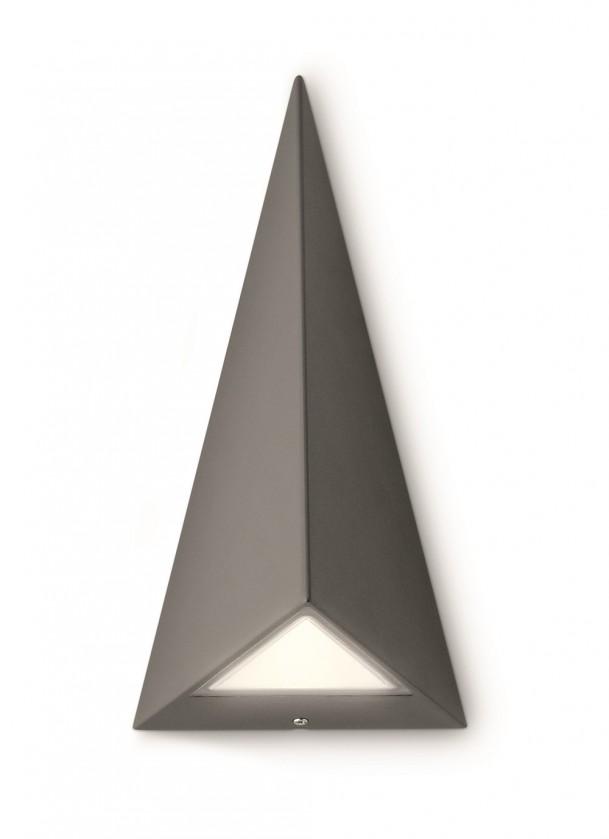 Mano - Vonkajšie osvetlenie LED, 12,8cm (antracit šedá)
