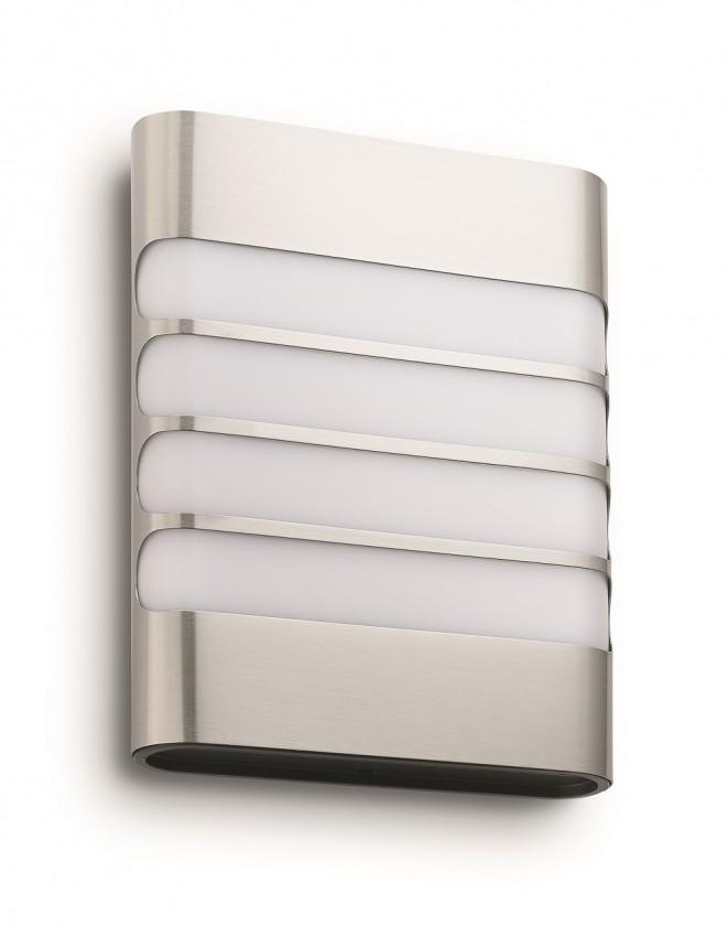 Mano - Vonkajšie osvetlenie LED, 16,18x20,46x6,6 (nerez)