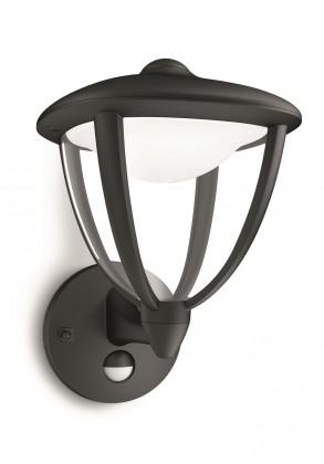 Mano - Vonkajšie osvetlenie LED, 17,4cm (čierna)
