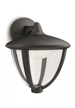 Mano - Vonkajšie osvetlenie LED, 17,4x23x20 (čierna)