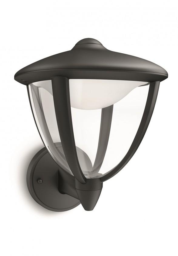 Mano - Vonkajšie osvetlenie LED, 17,4x24x20 (čierna)