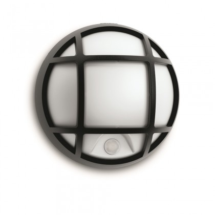 Mano - Vonkajšie osvetlenie LED, 17cm (čierna)