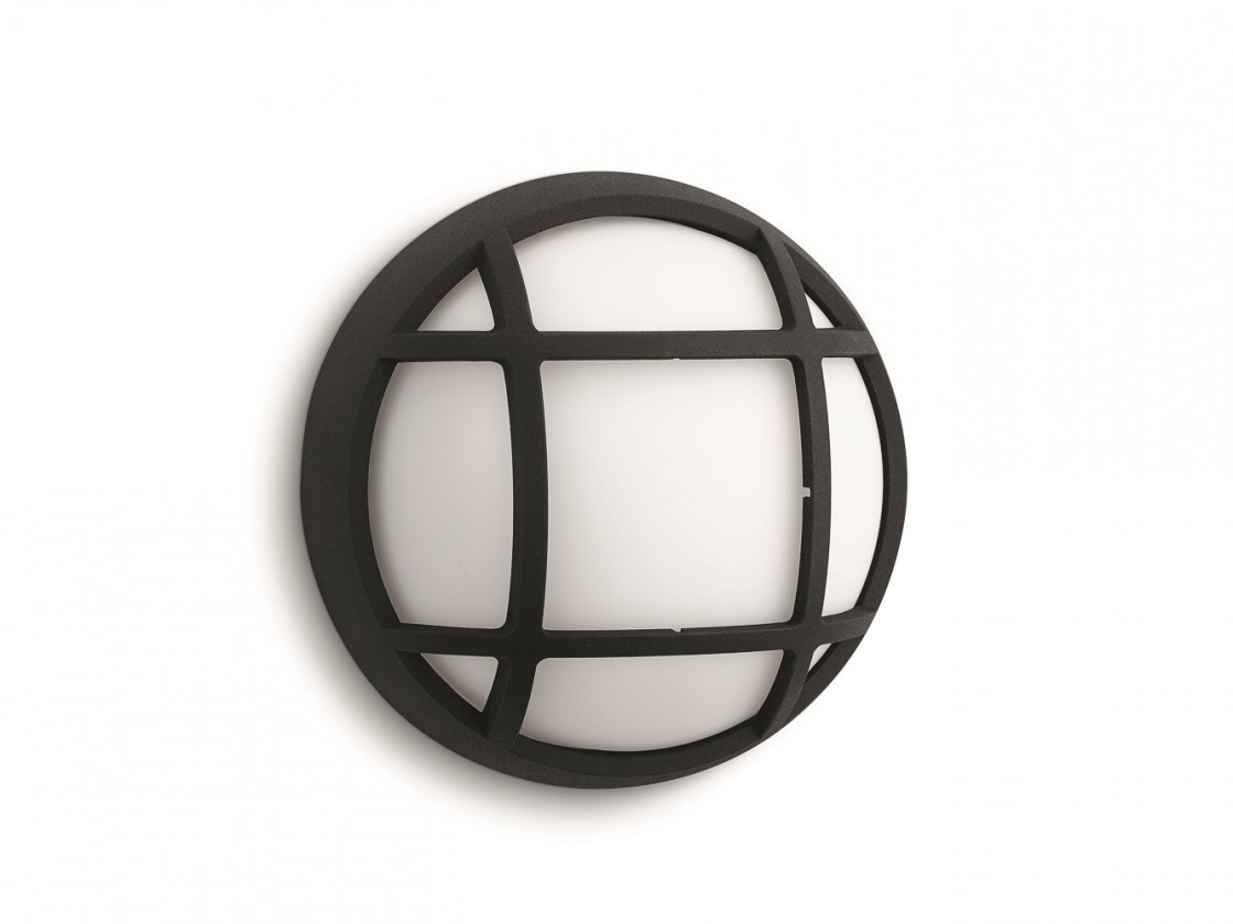 Mano - Vonkajšie osvetlenie LED,17cm (čierna)
