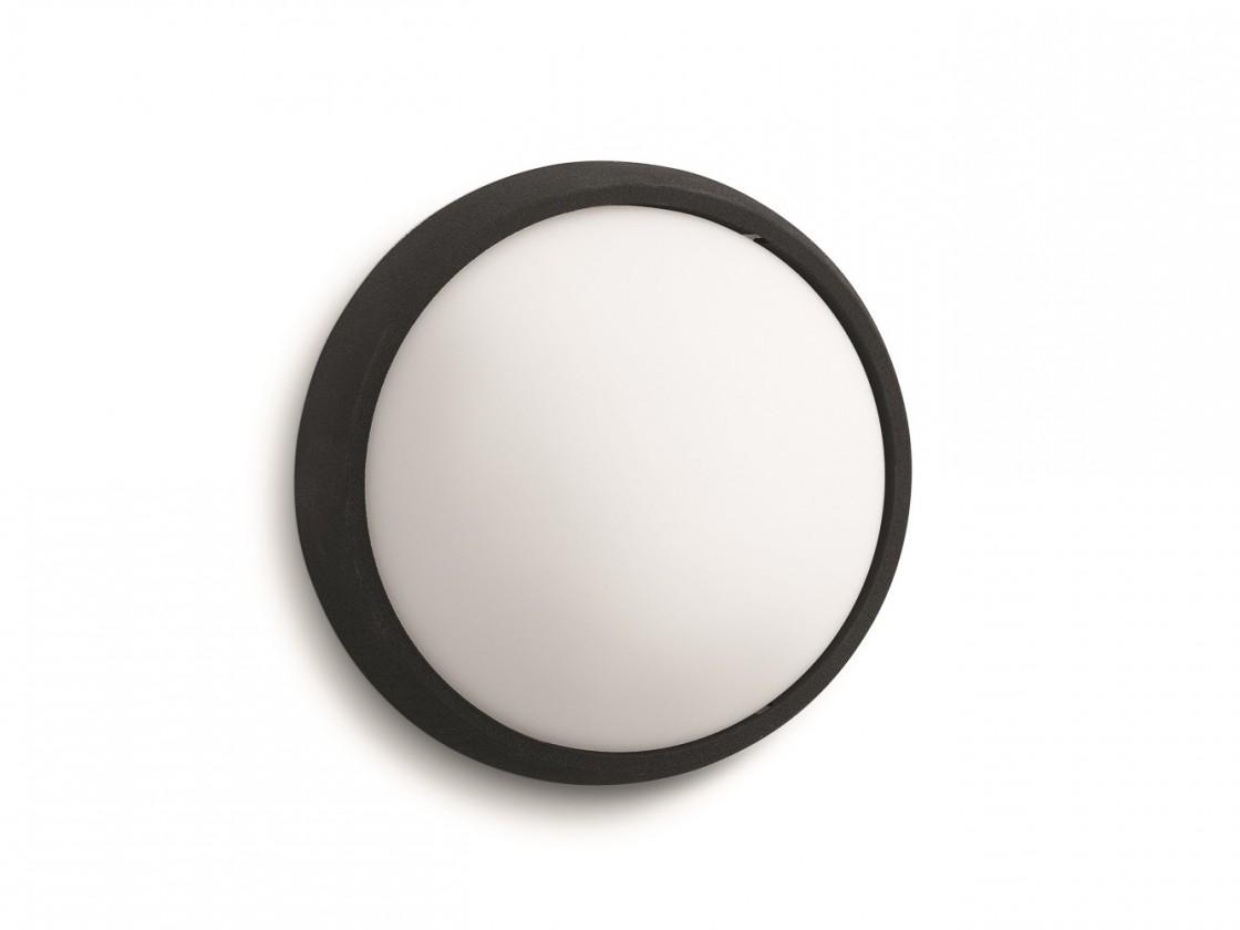 Mano - Vonkajšie osvetlenie LED, 17x17x7,4 (čierna)