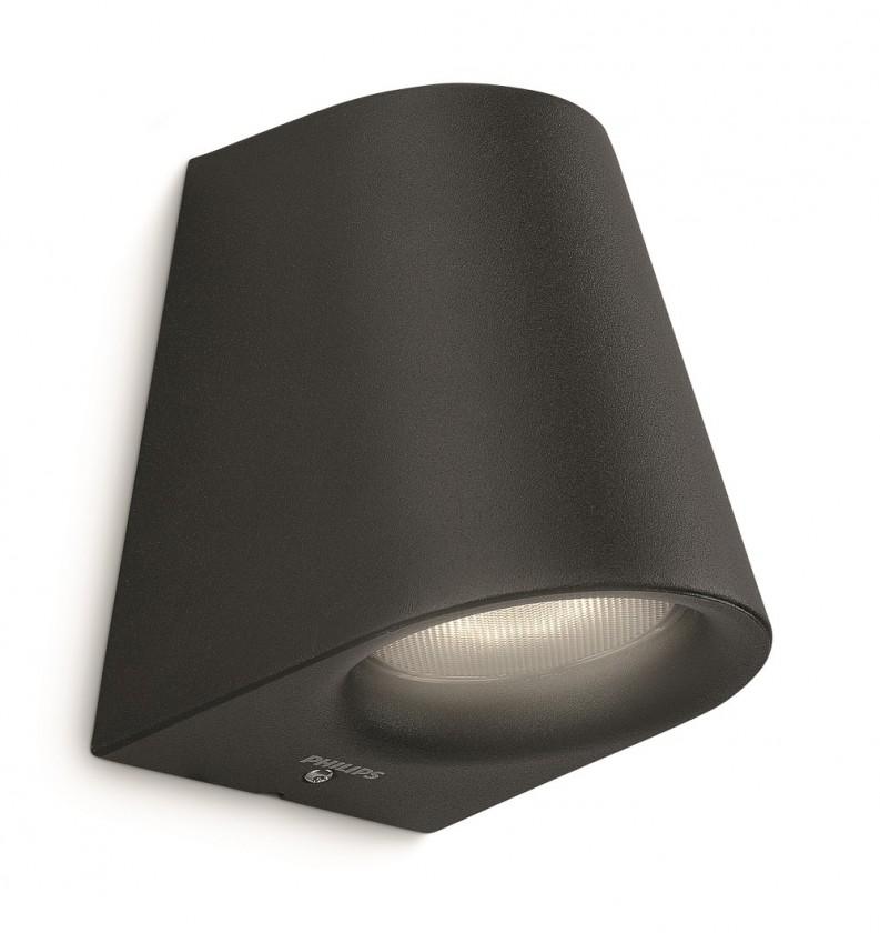 Mano - Vonkajšie osvetlenie LED, 9,2cm (čierna)