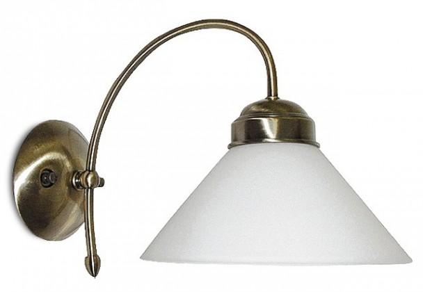 Marian - Nástenné osvetlenie, 2701 (bronzová/biela)