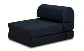 Marino-kreslo,rozkladacie (tuill black,sk. MR-1)