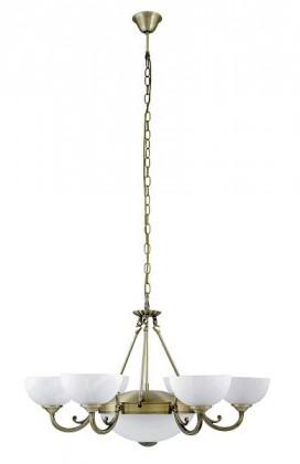 Marlene - Stropné osvetlenie, 8546 (bronzová/biela alabastrová)