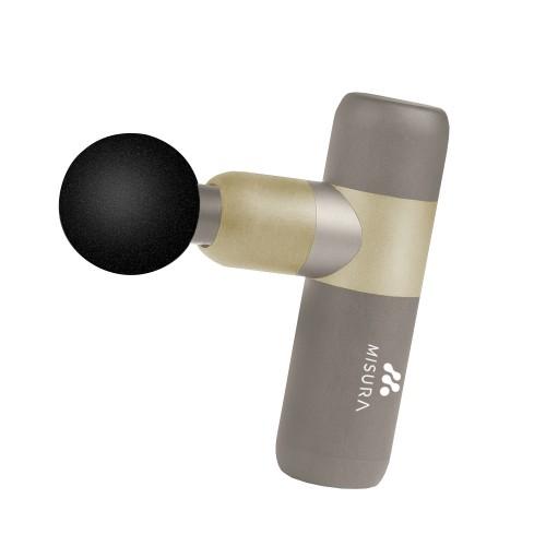 Masážna pištoľ Misura MB4 béžovo-zlatá