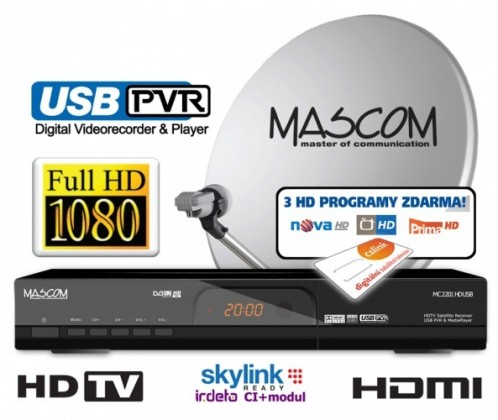 Mascom MC2201/60 + CS link 1rok Bazar