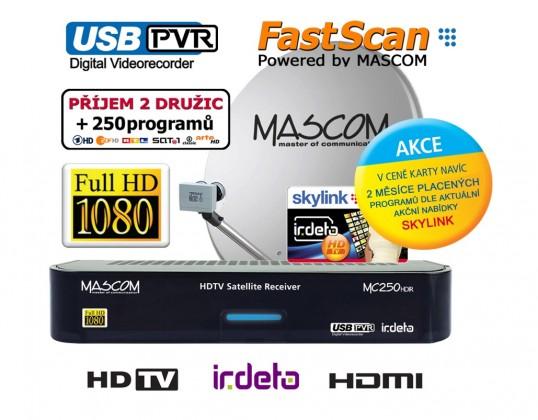 Mascom MC250/80MBL+M7 ROZBALENO