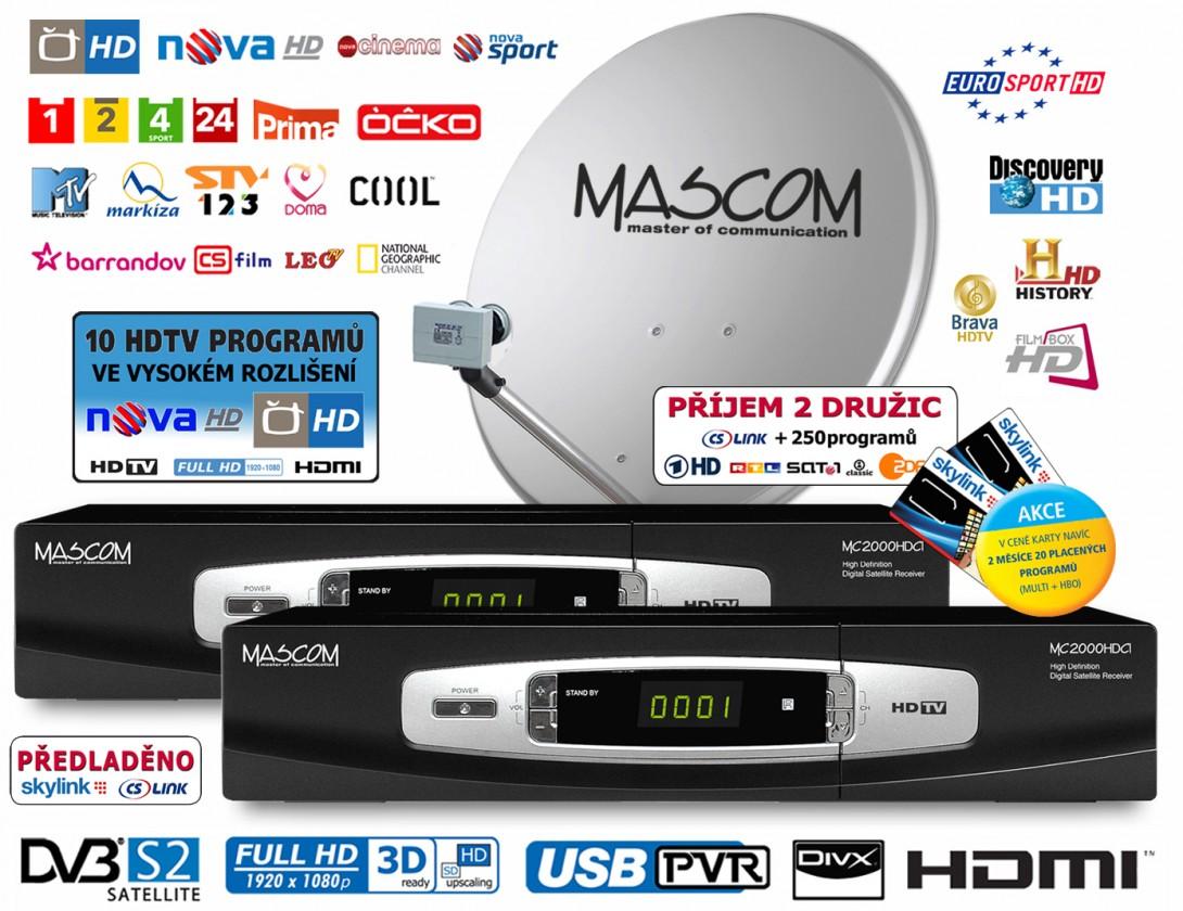 Mascom S-2000UCR/80MBL-T+IH