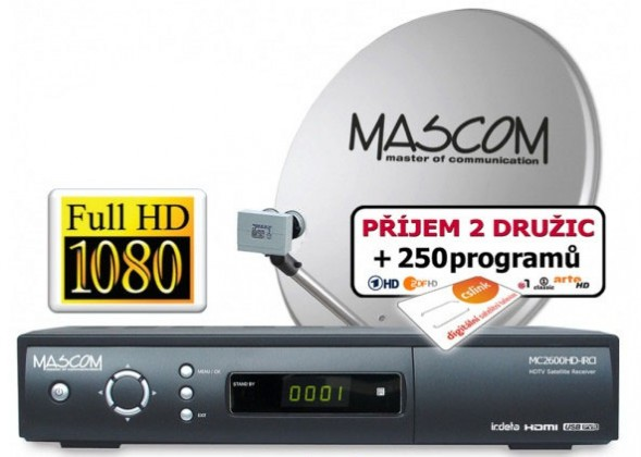 Mascom S-2600/60MBL+G