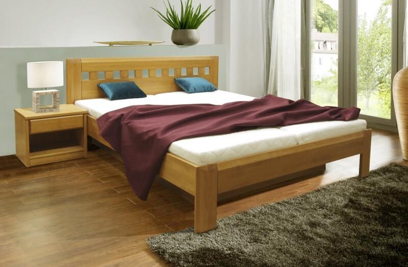 Masívne Camira Lux - rám postele 200x180