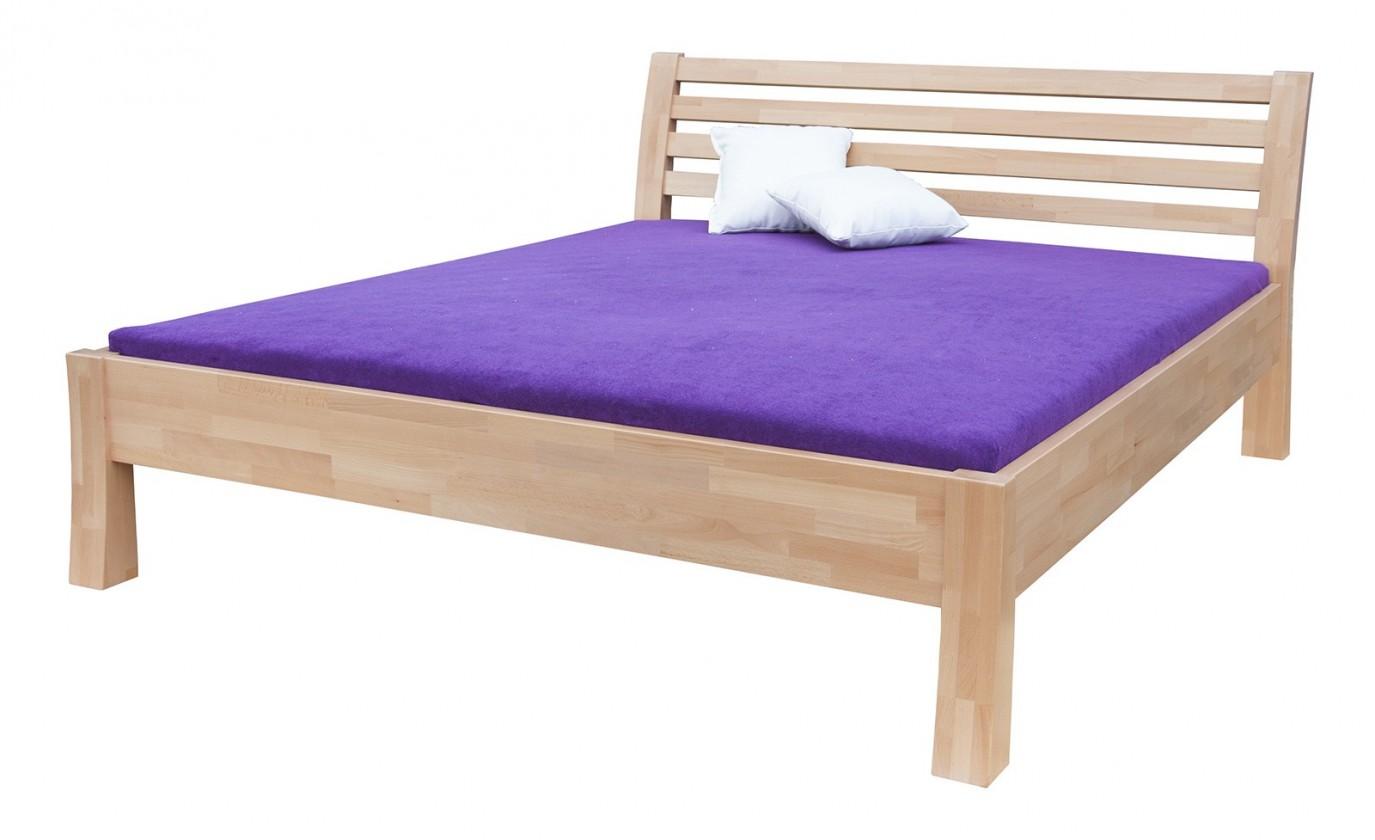 Masívne Carla - rám postele (rozmer ložnej plochy - 200x120)