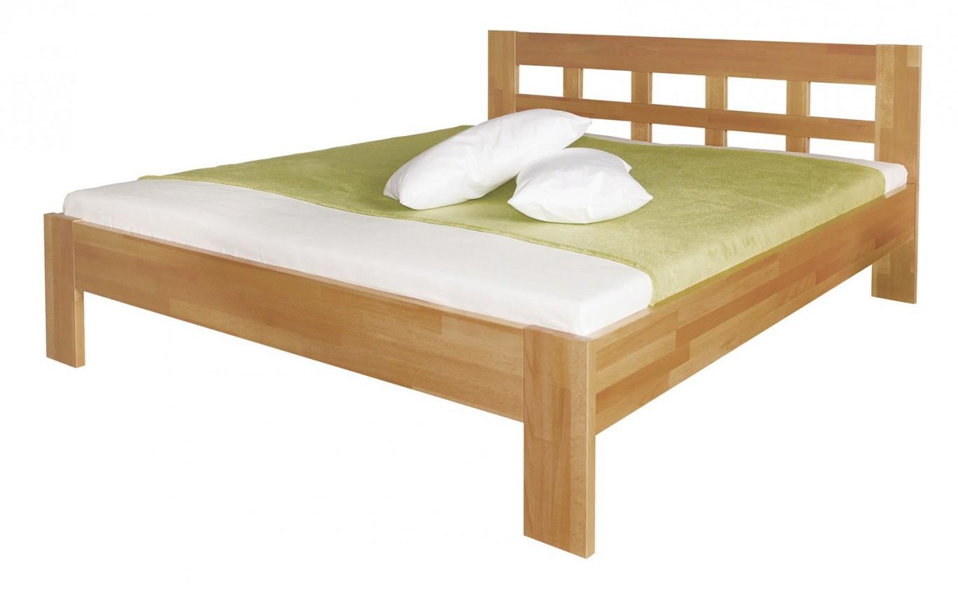 Masívne Delana - rám postele (rozmer ložnej plochy - 200x180)