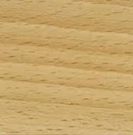 Masívne Elza 3 - Rám postele 200x180 (masív buk, prírodný buk)