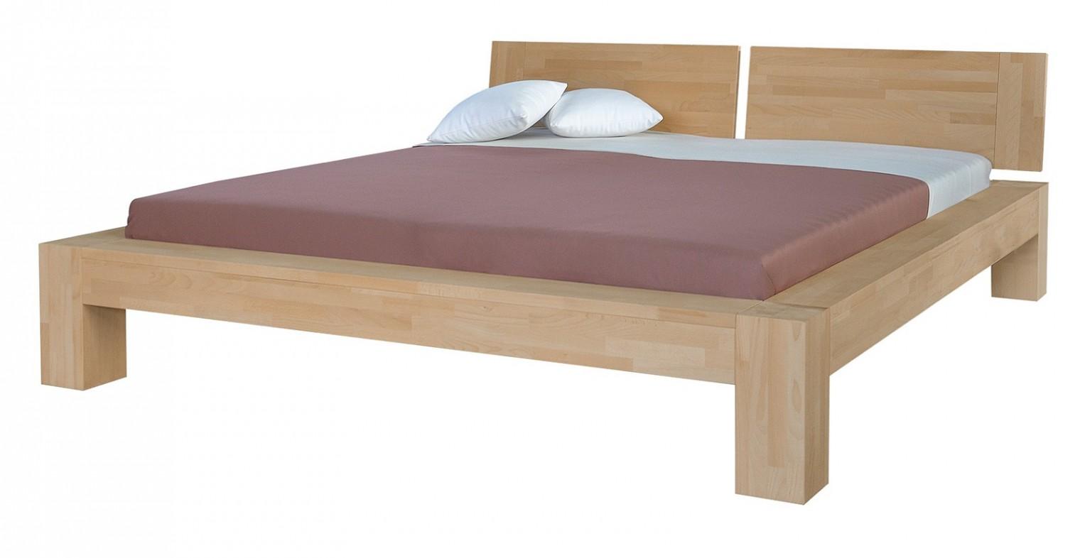 Masívne Esta - rám postele (rozmer ložnej plochy - 200x180)