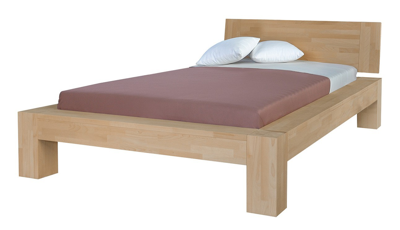 Masívne Esta - rám postele (rozmer ložnej plochy - 200x80)