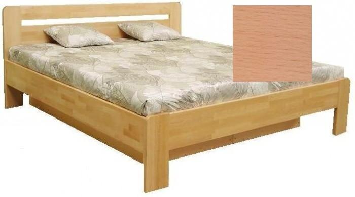 Masívne postele Drevená posteľ Kars 2, 180x200 vr. výkl.roštu a úp, bez matracov
