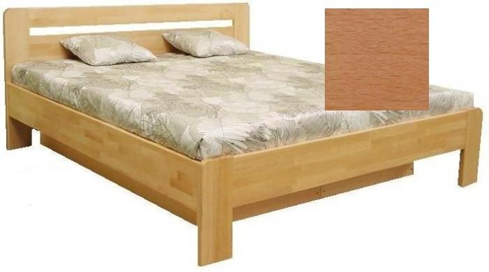 Masívne postele Drevená posteľ Kars 2, 180x200, vrátane roštu a úp,bez matracov
