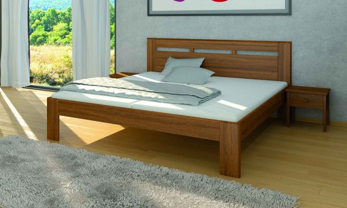 Masívne postele Rám postele Carrera 180x200, buk
